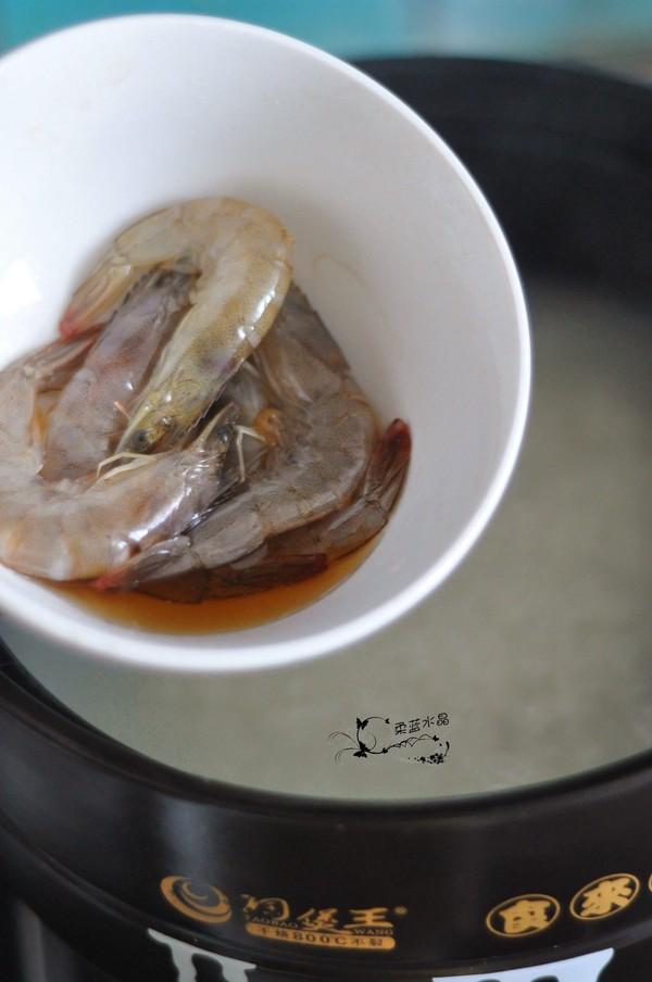 梭子蟹海鲜粥的简单做法