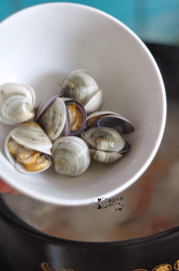 梭子蟹海鲜粥怎么做