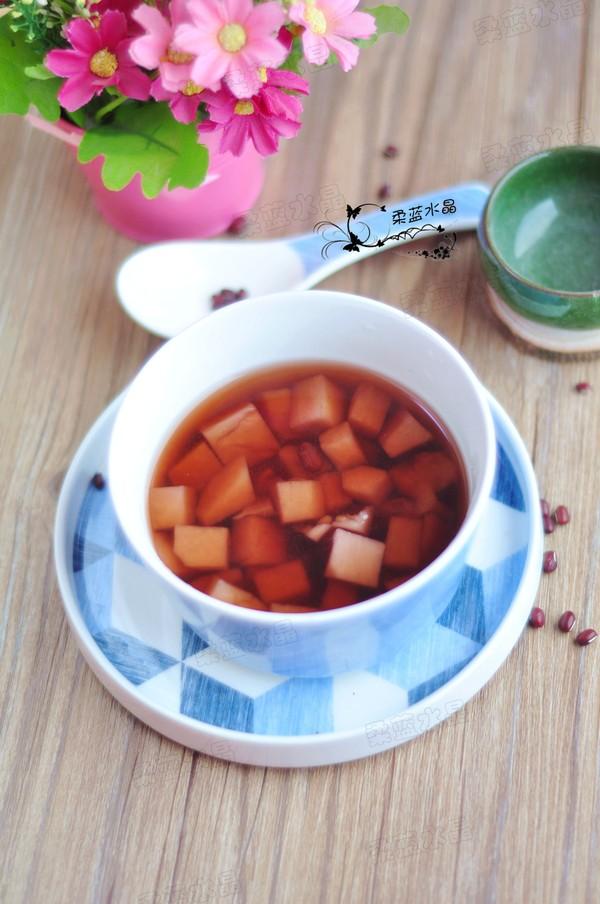 红豆芋头糖水成品图