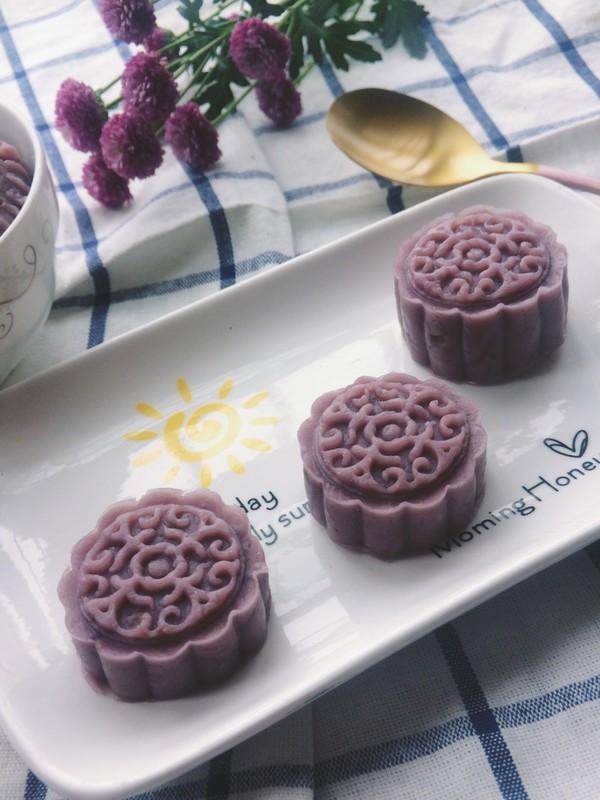 紫薯香芋馅成品图