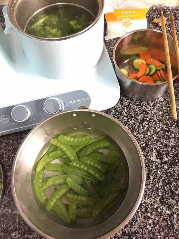 蔬菜沙拉的简单做法