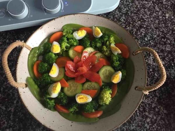 蔬菜沙拉怎么炒