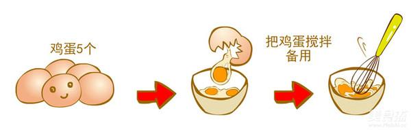 鱼肠蒸蛋的做法大全