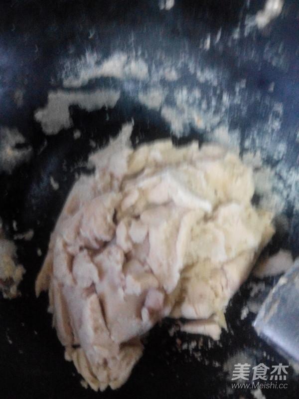 香甜白云豆沙成品图
