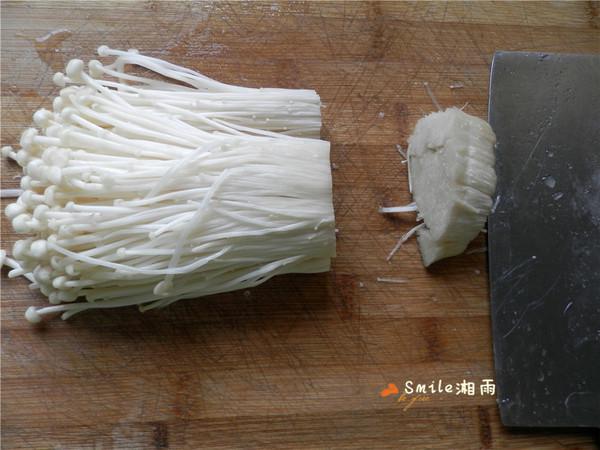 肉末茄汁金针菇的做法图解