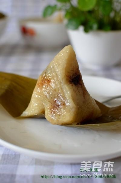 红枣豆沙粽子成品图