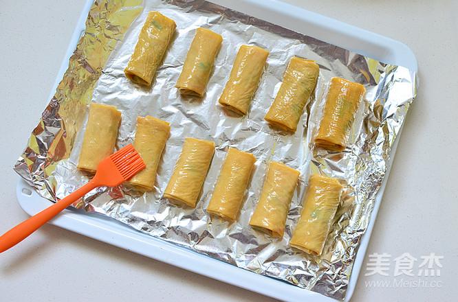 香菜腐皮卷怎样做
