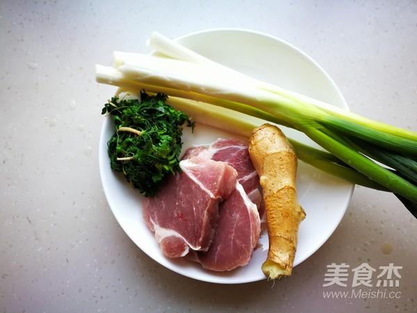荠菜猪肉包的做法大全