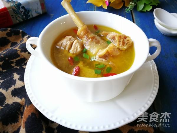 红参鸡汤成品图