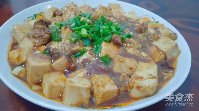 川味家常焖豆腐成品图