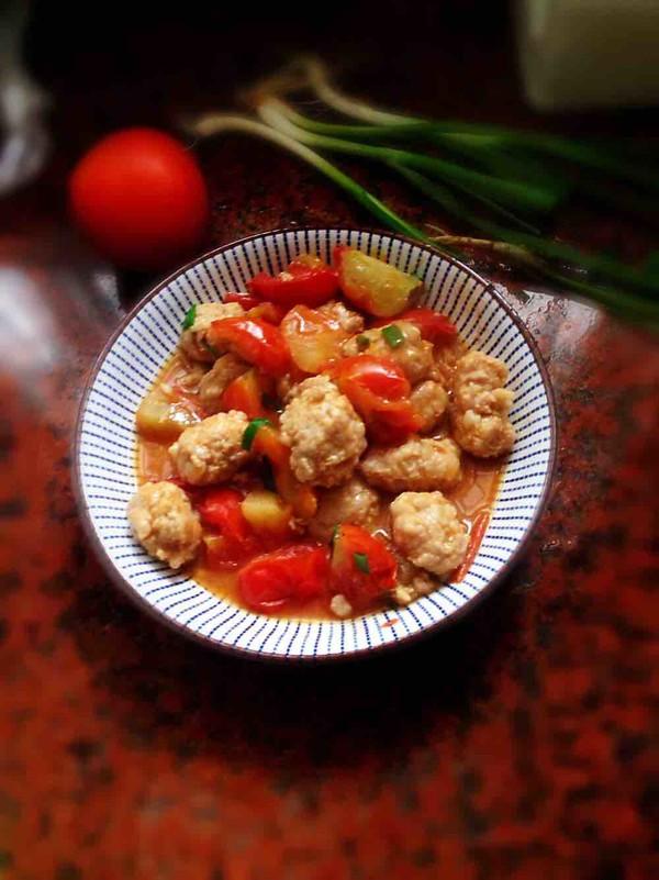 美食DIY——番茄烩肉丸
