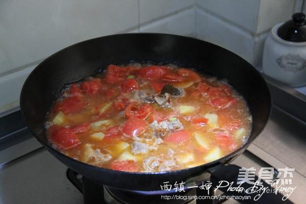 西红柿牛腩煲怎么炒