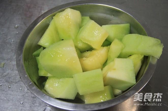 自制哈密瓜果酱的做法大全