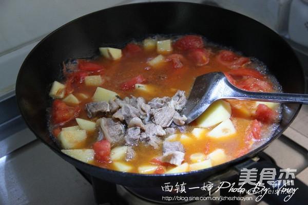 西红柿牛腩煲怎么做