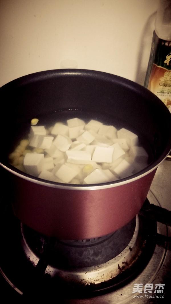 蟹粉豆腐的家常做法