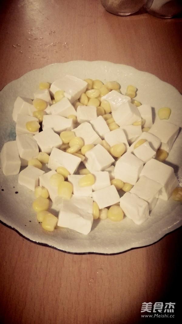 蟹粉豆腐的简单做法