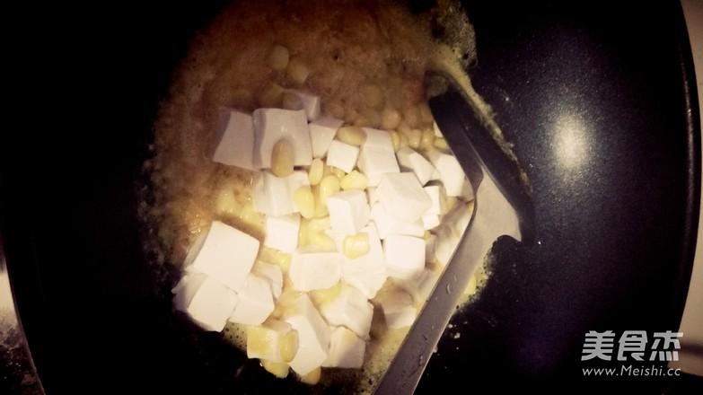 蟹粉豆腐怎么炒