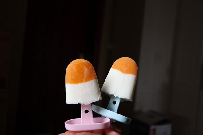 柿子冰棍成品图