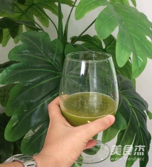 美白保湿青瓜汁的简单做法