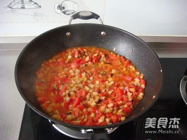 西红柿茄子拌面怎么炖