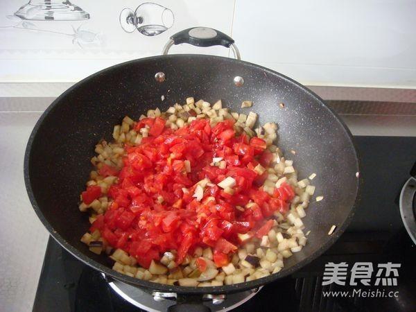 西红柿茄子拌面怎么煮
