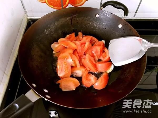 家常番茄鸡蛋面的简单做法