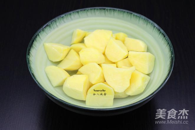 土豆焖鸡腿的做法图解