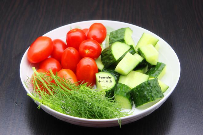 春季排毒七彩沙拉的简单做法