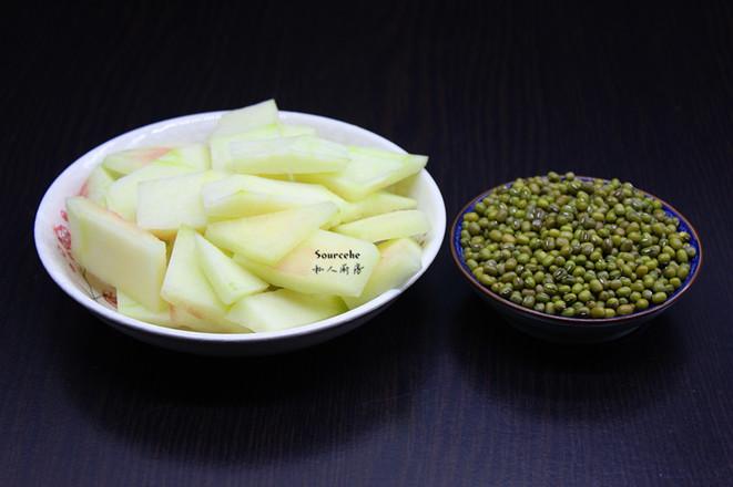 西瓜皮绿豆糖水#下午茶#的做法大全