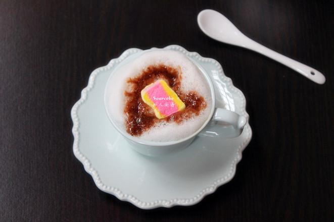 巧克力咖啡成品图