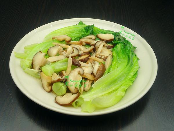 香菇炒生菜怎么炒