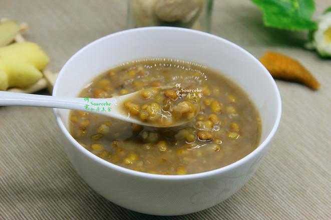 祛暑绿豆粥成品图