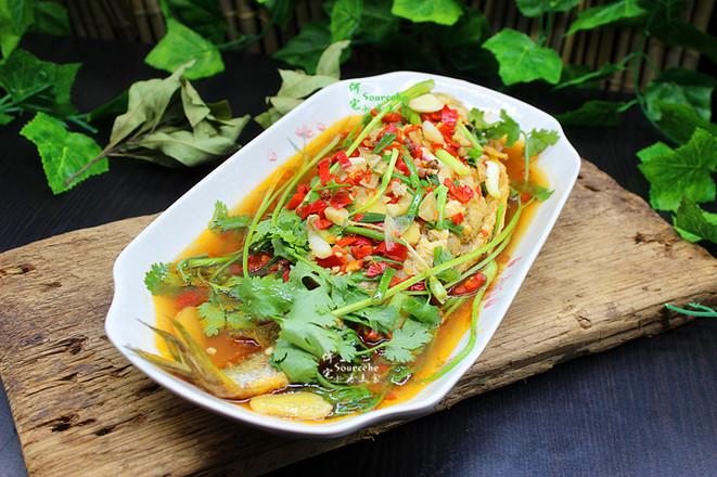年夜饭必备菜,红烧黄花鱼成品图